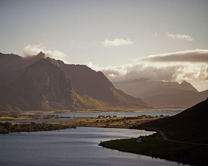 Napp Skaret in Lofoten, Norway